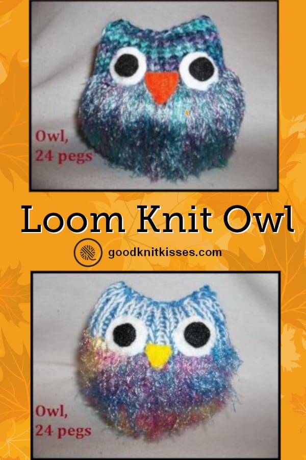 Loom Knit Owl Free Pattern Goodknit Kisses