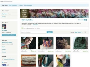 Start an Etsy Knitting Shop