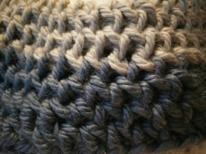 DLS Infinity Scarf close up