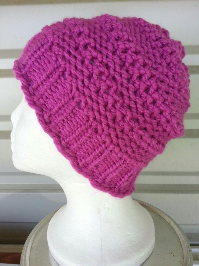 Double Dip Stitch Hat