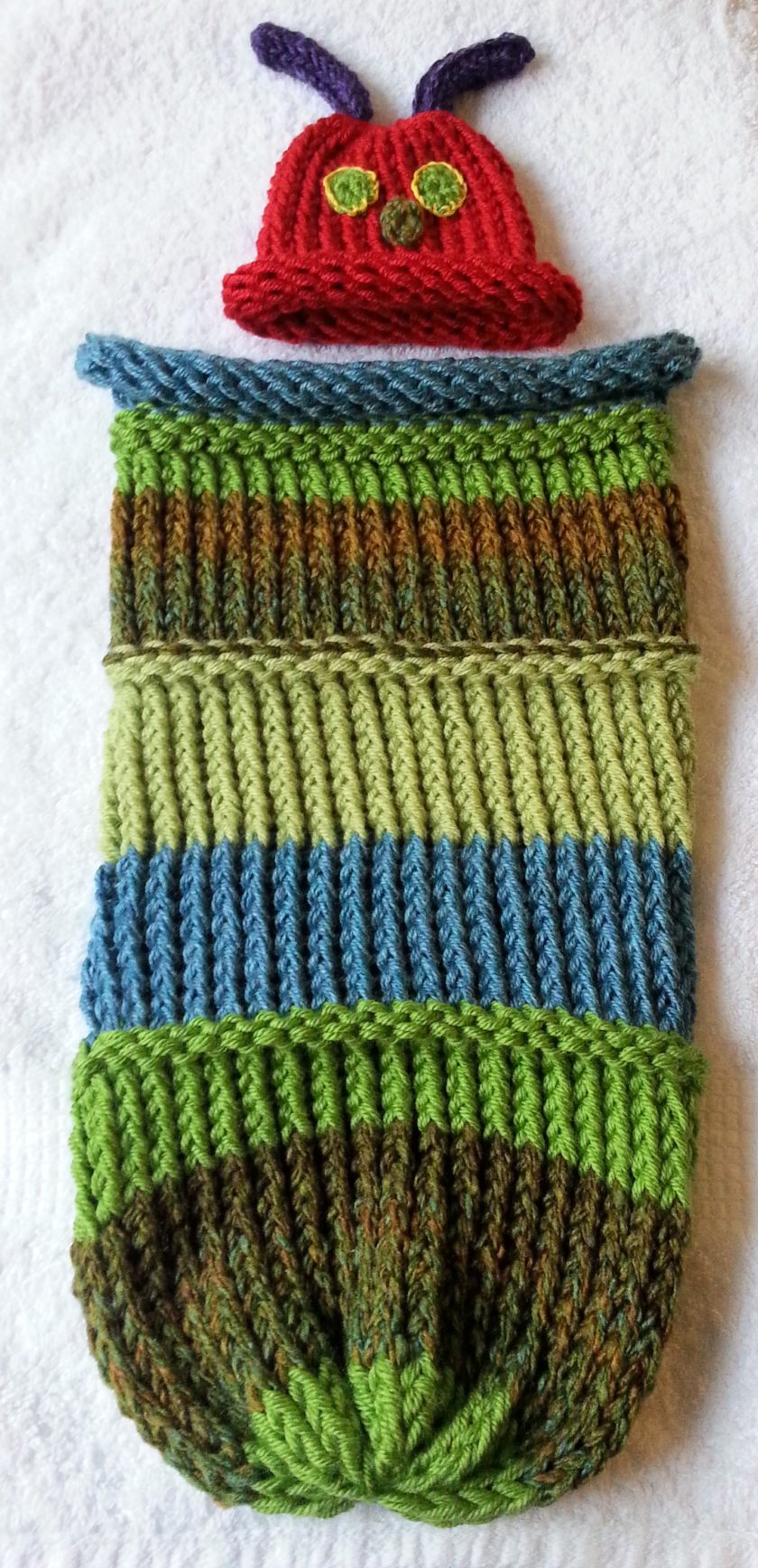 Caterpillar Cocoon   Hat  5883d8c71a0