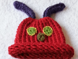 hungry caterpillar cocoon by mary burke