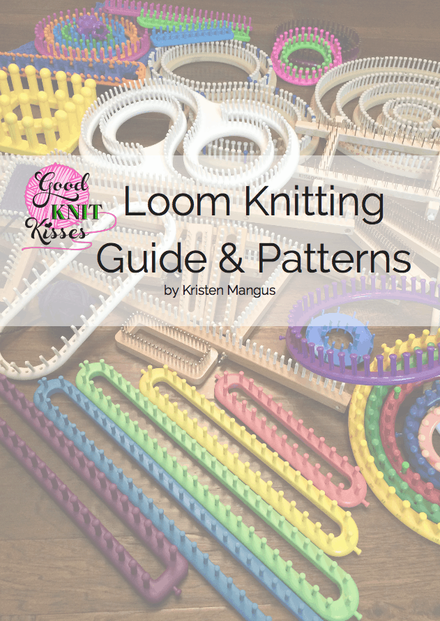 Loom knitting Book Loom Knitting Guide & Patterns eBook by Kristen Mangus