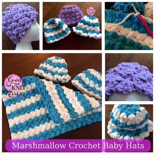 Marshmallow Crochet Baby Hat