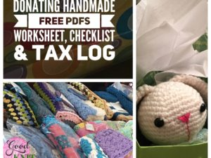 Donating Handmade – Making it Work