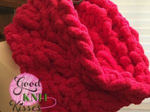 Cross Stitch Cowl Zippy Loom Knit