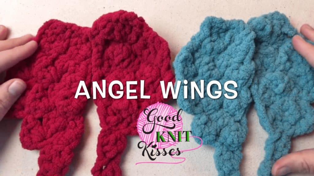 Angel Wings Crochet Goodknit Kisses Goodknit Kisses