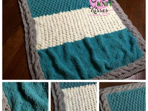 Finish your Week 4 Mystery Stitch Along KAL (Knit Along)