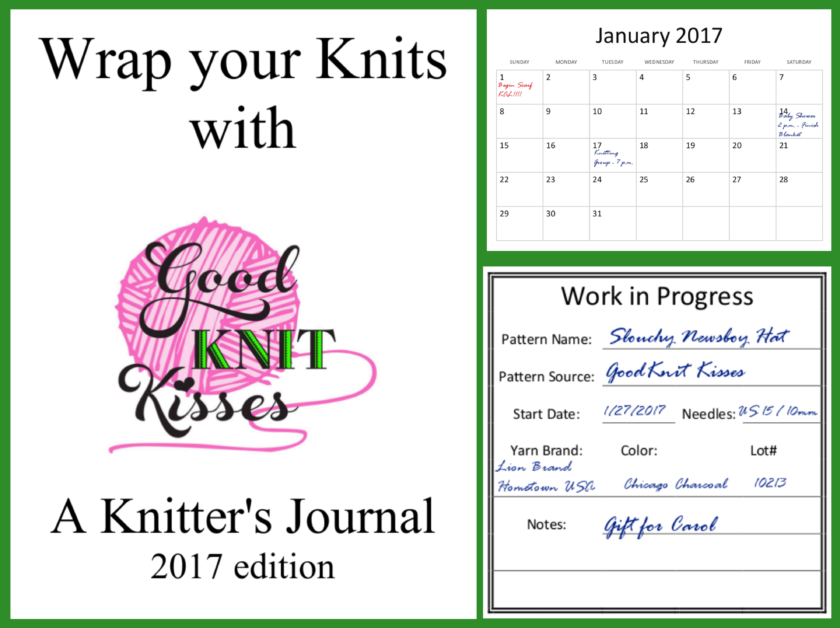 2017 Knitter's Journal