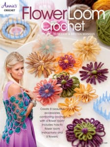 Flower Loom Techniques: Flower Loom Crochet Book Cover