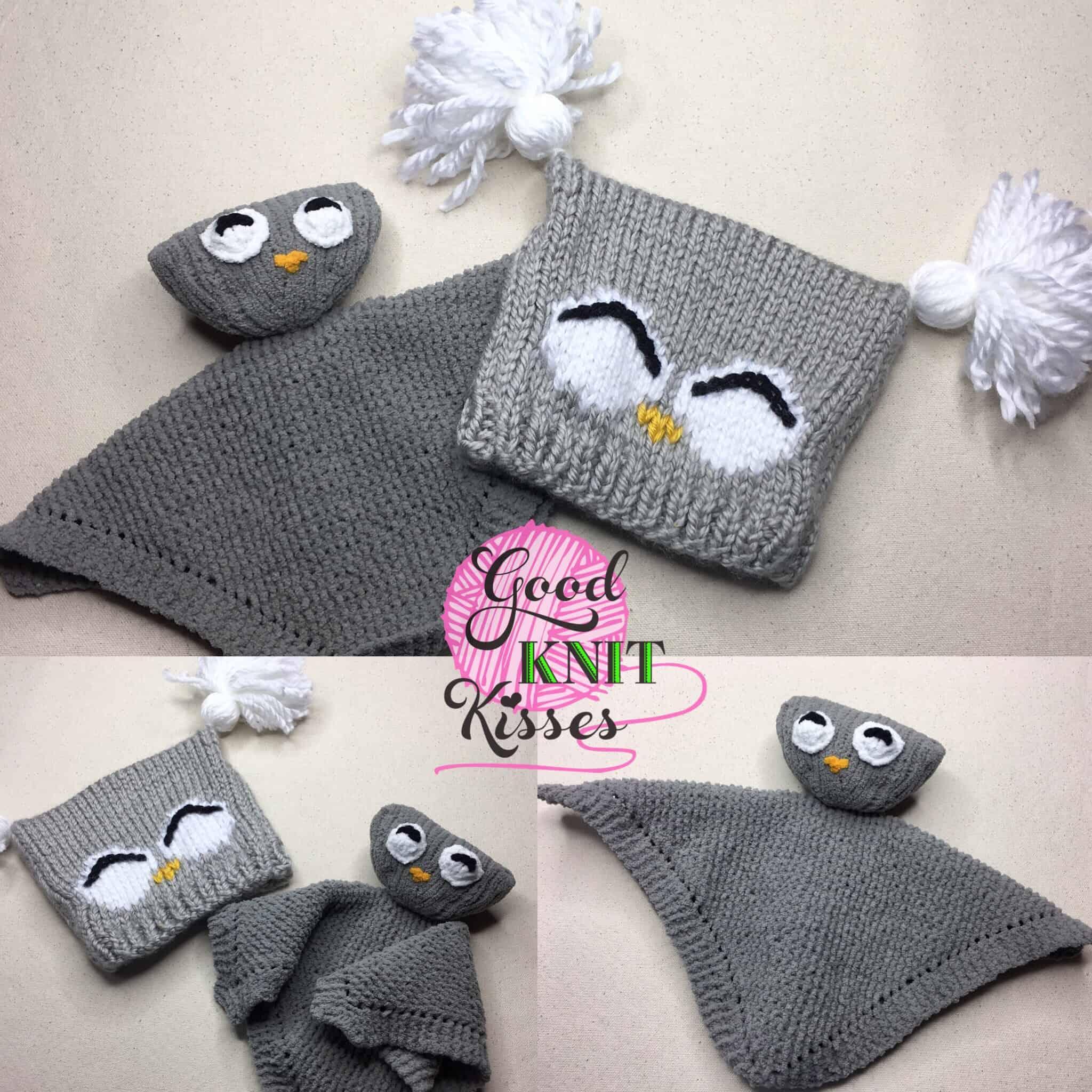 Owl Knit Lovey   Yarnspirations