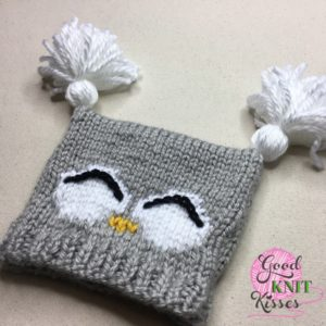 Knit Owl Hat