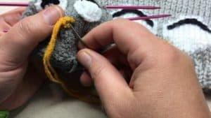 Owl Knit Lovey