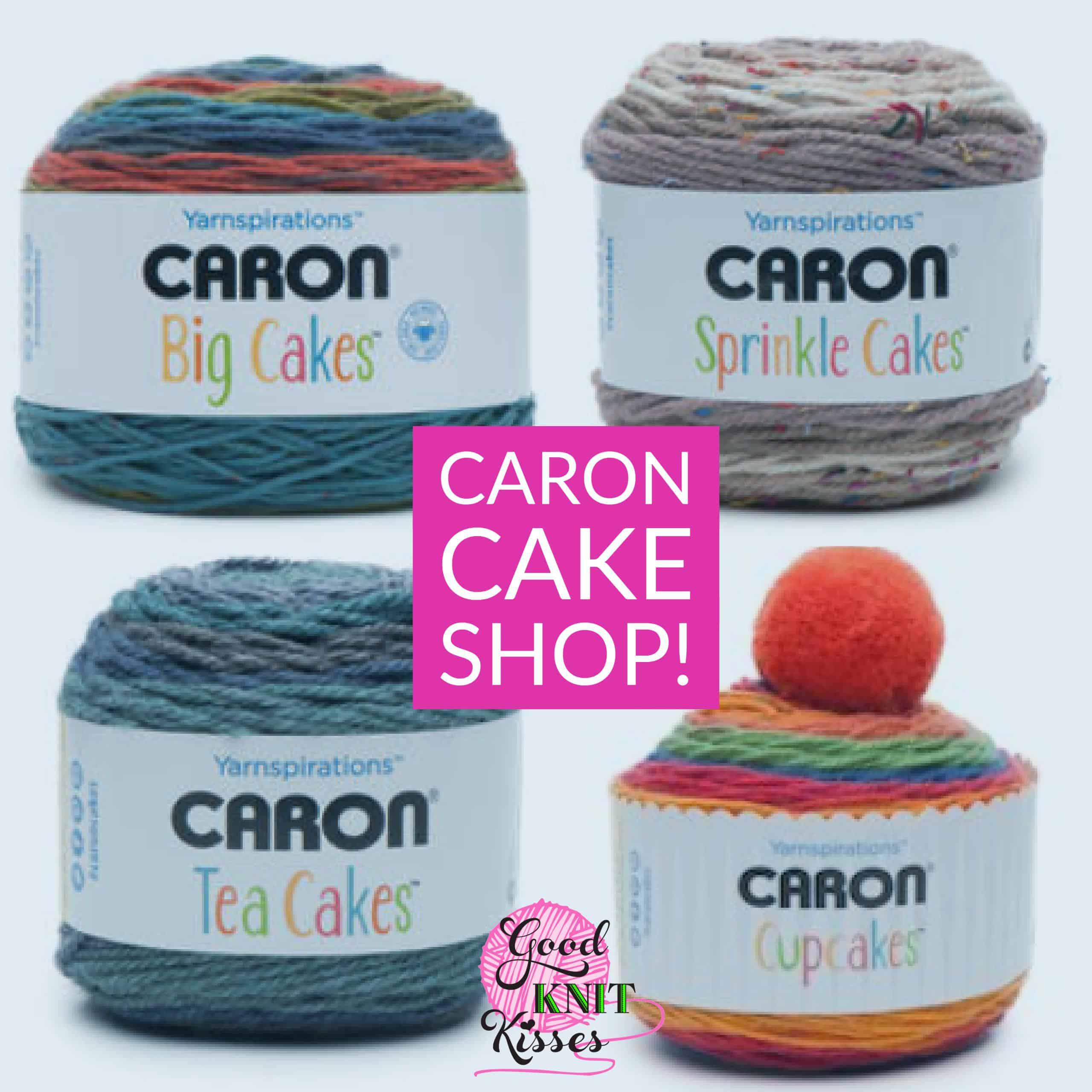 Caron Cake Shop *NEW Yarn* | GoodKnit Kisses