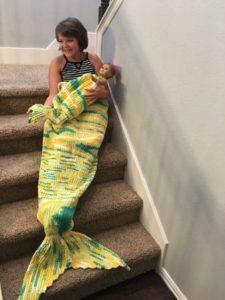 Mermaid Tail Snuggle Sack