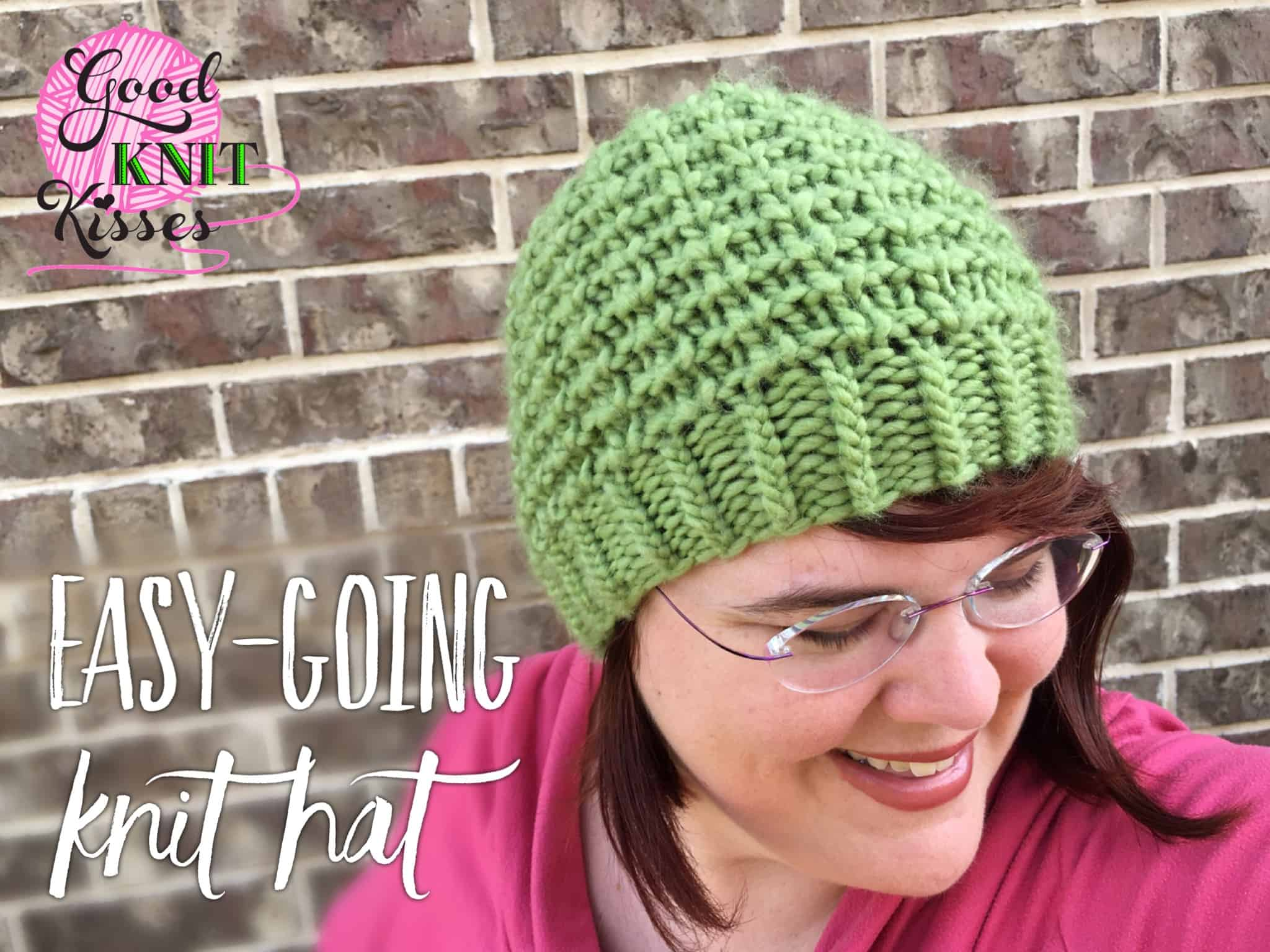 Easy-Going Knit Hat |Yarnspirations