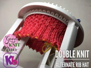 Double Knit Alternate Rib Hat | KB Looms