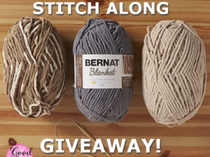 Bernat Blanket Stitch Along Giveaway!