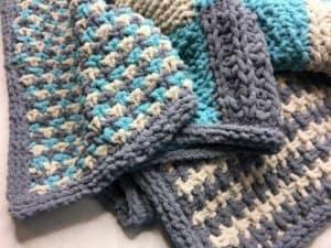 2017 Bernat Blanket Stitch Along Clue 6