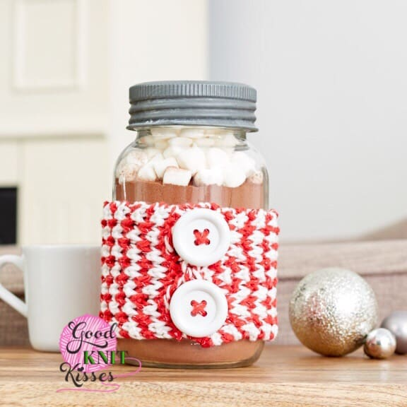 Peppermint Jar Hug | Yarnspirations