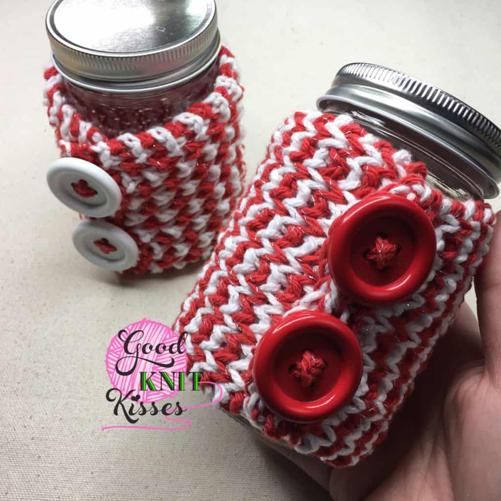 zigzag mug hug and jar hug gift set