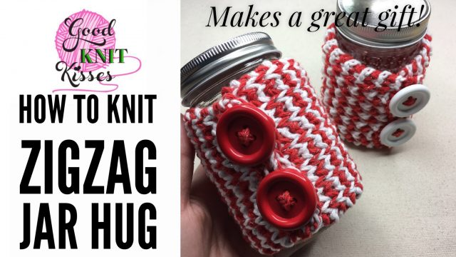 zigzag mug hug and jar hug gift set