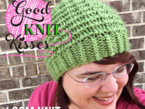 Easy Going Loom Knit Hat