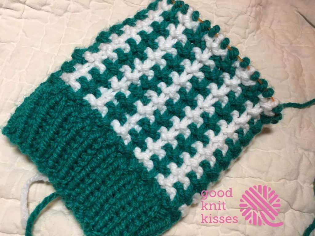 Stadium Stripes Knit Hat