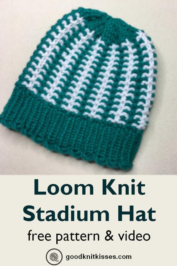 Stadium Stripes Hat PIN Image