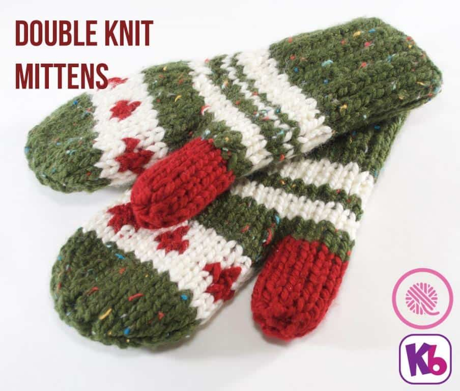 Double Knit Mittens | KB Looms