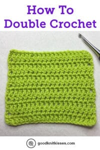 How To Crochet Double Crochet