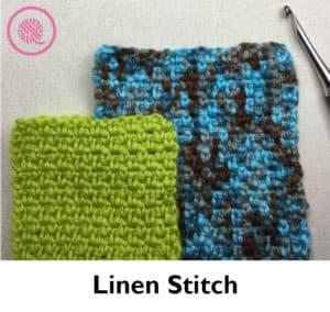 Crochet Linen Stitch Image