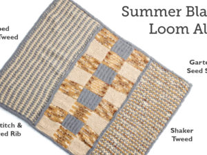Summer Blanket Loom Along!