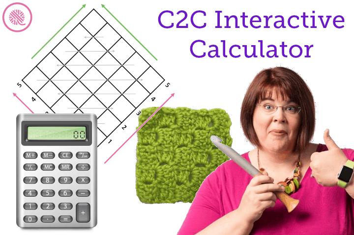 C2C Interactive Crochet Calculators