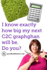 C2C Corner to Corner Interactive Crochet Calculators PIN Image