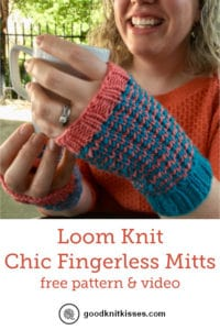 Chic Fingerless Mitts Pin Image