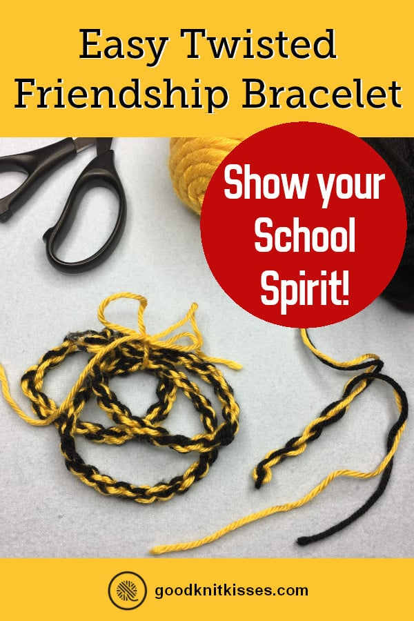 Easy Twisted Friendship Bracelet