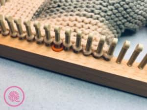 Loom Knit Shawl Stitch marker 2