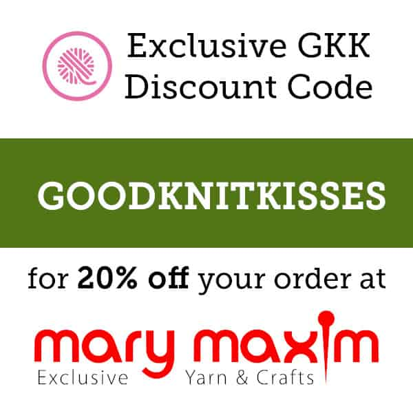 craft kit unboxing discount code GOODKNITKISSES for 20% off at marymaxim.com