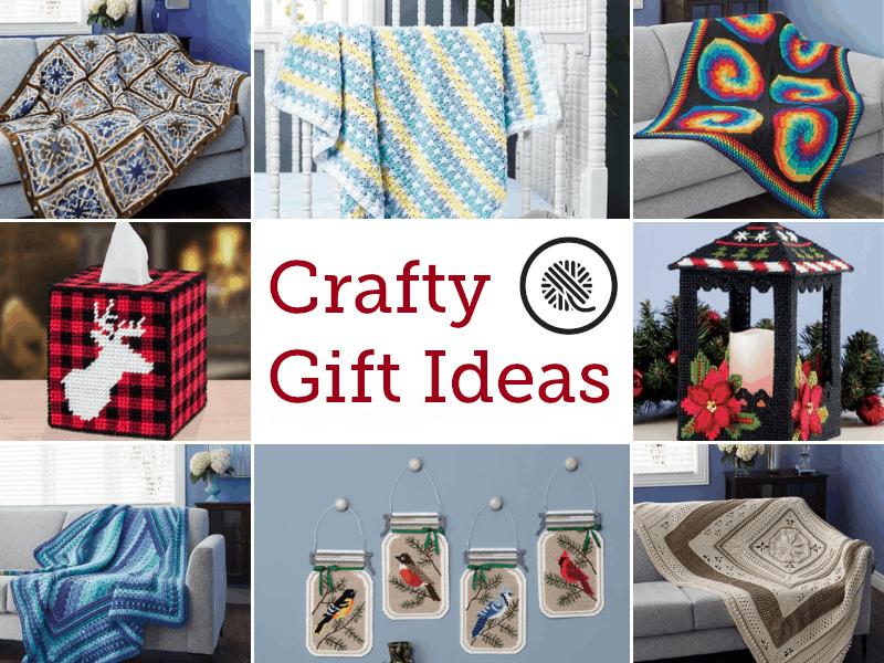 Crafty Gift Ideas | Mary Maxim | GoodKnit Kisses