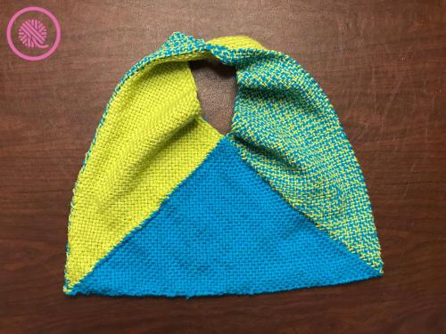 Woven Boho Bag finished