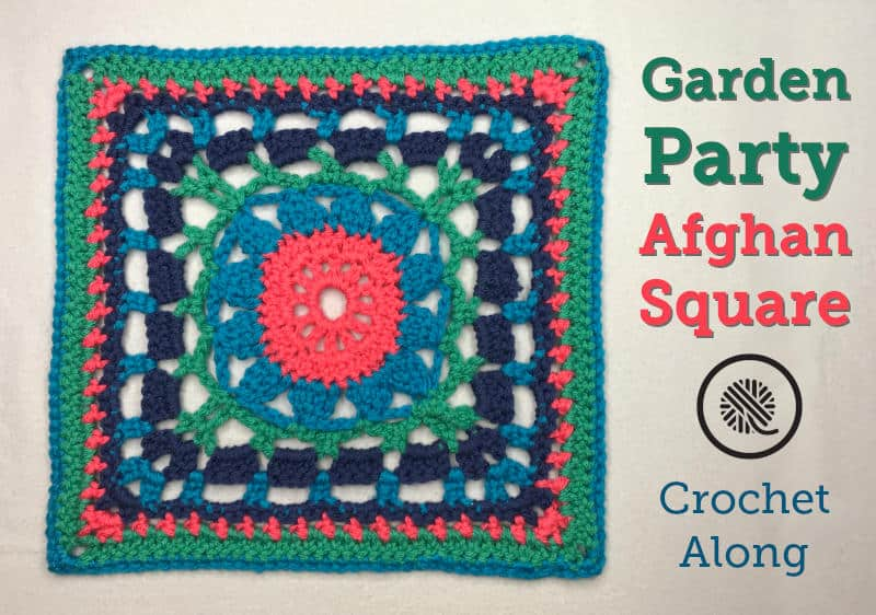 Don't miss the party! Make my free Garden Party square today.
