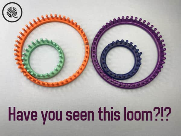 Knitting Loom Guide Purple Knifty Knitter and Equivalent loom comparison