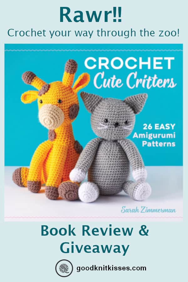 crochet cute critters book pin image of book cover