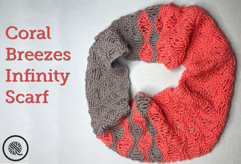 Be carefree with the Coral Breezes Infinity Scarf!