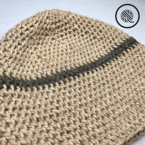 Needle Knit Boyfriend Hat