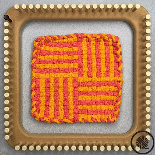 Pinstripe Woven Hot Pad Patterns