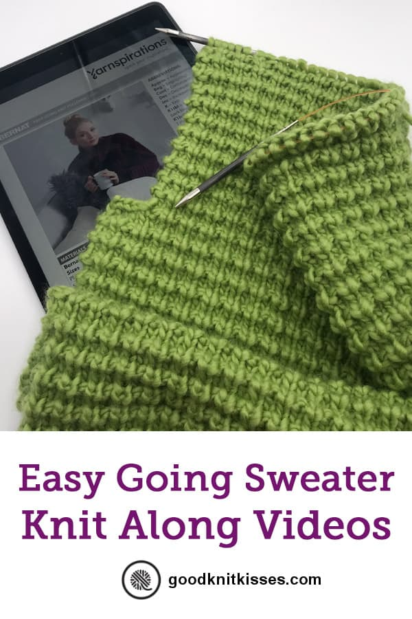 easy sweater knit along