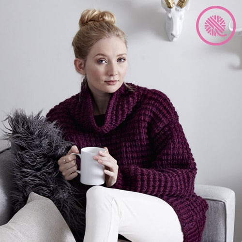 needle knit Easy Going Pullover