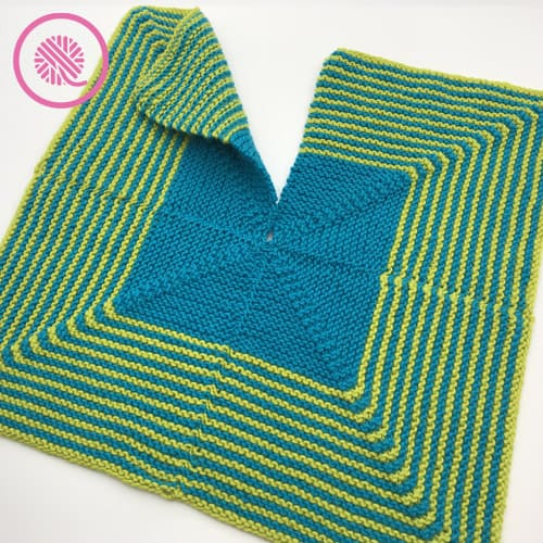 how to seam stripes for the mitered stripes baby lovey